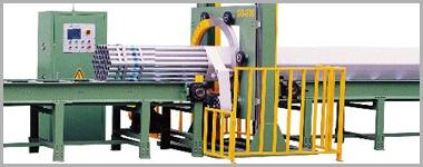 水平管材缠绕包装机